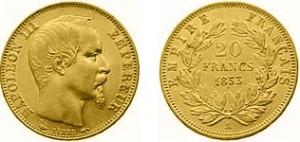 Pièce d'or de vingt francs